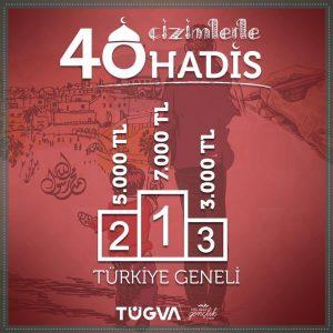 'Çizimlerle 40 Hadis' yarışmasının son başvuru tarihi 21 Nisan (1)