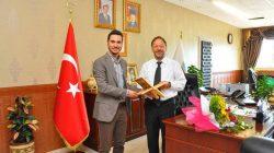 TÜGVA'dan Prof. Dr. Erbaş'a ziyaret