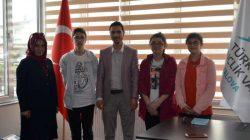 BİLSEM öğrencilerinden TÜGVA'ya ziyaret