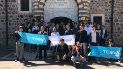 TÜGVA'lı gençler Ankara'da
